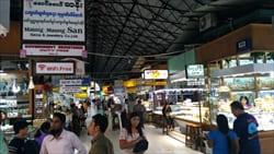 ボギョック・アウンサン・マーケット Bogyoke Aung Sann Market ヤンゴン yangon お土産 観光