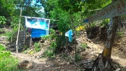 Dee Dote Waterfall,写真,ミャンマー,旅行,観光,情報,Myanmar,行き方,photo,Travel,Information