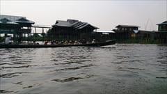 インレー湖 Inle Lake ボートの旅 Boat Trip 観光 写真 Photo