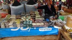 カックー遺跡 マーケット 市場 Kakku Pagoda Market