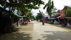 グエンサン市内 Ngwe Saung City 写真 Photo
