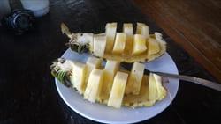 モーラミャイン、パイナップル、写真