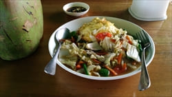 Sea Fun Restaurant タージン・ビーチ Thazin Beach 写真 Photo