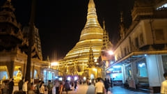シュエダゴン・パゴダ Shwedagon Pagoda ヤンゴン yangon ミャンマー 旅行 観光 情報 おすすめ Myanmar Travel Information