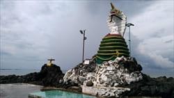 スネーク・パゴダ Snake Pagoda タージン・ビーチ Thazin Beach 写真 Photo