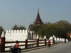 マンダレー王宮 The Mandalay Royal Place Myanansankyaw The Royal Palace 写真 ミャンマー photo